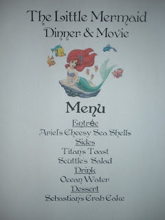 Craftzilla: Disney Movie Nights - The Little Mermaid