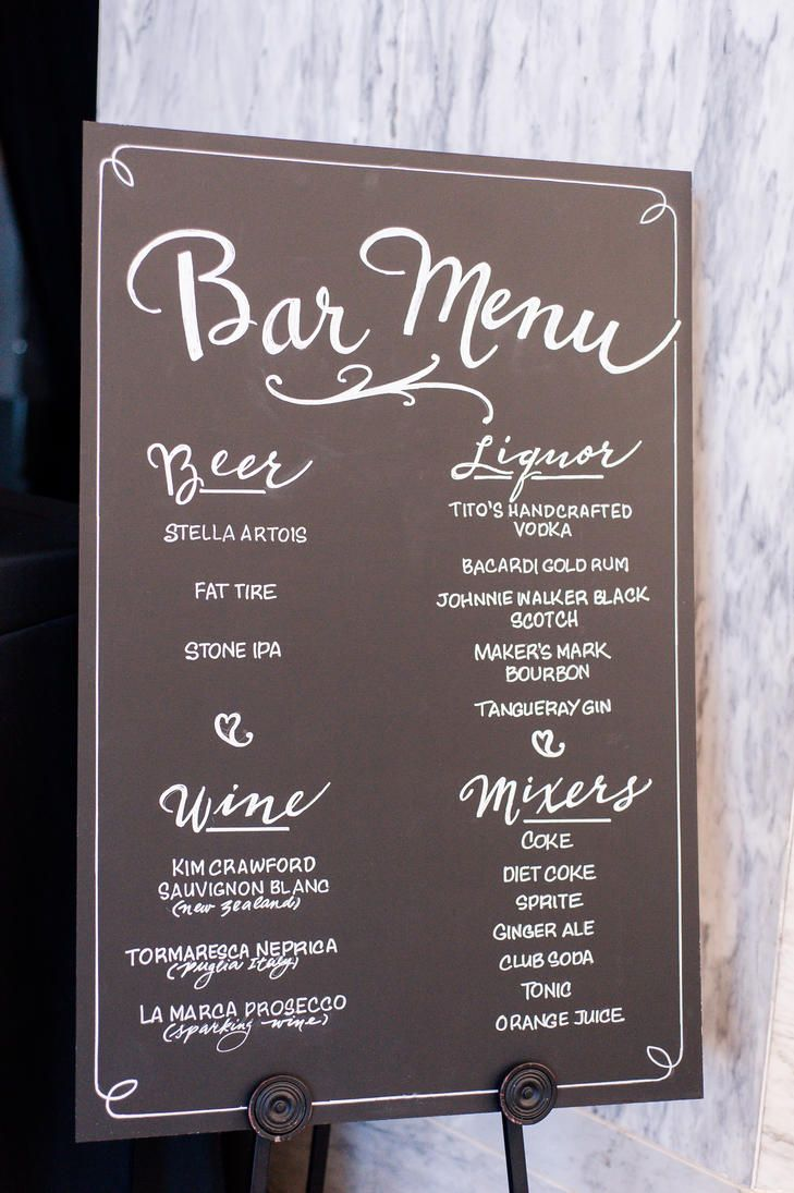 top 25+ best bar menu ideas on pinterest | wedding bar menu, menu