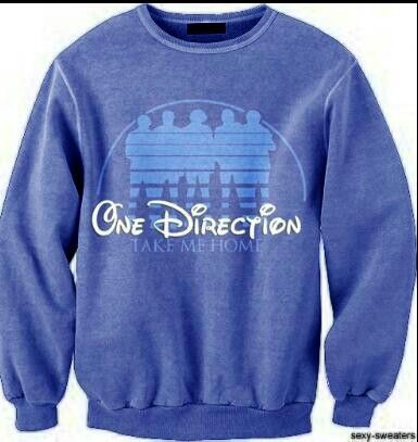 Another One Direction sweatshirt! Love it! Who ever made this is just a freaking genius!
