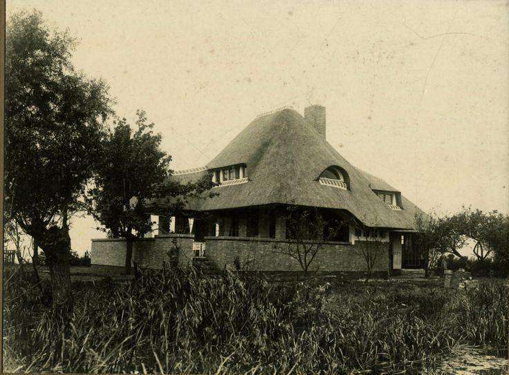 Woonhuis aan de Funtusplas Oud Loosdrecht 1934