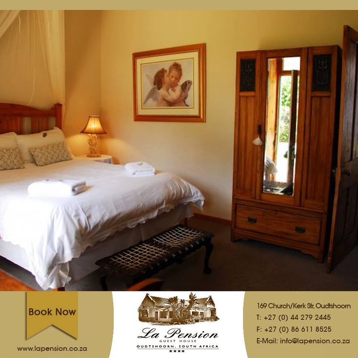 In the heart of the #Karoo, La Pension is the perfect place to come and unwind. Visit our website for more information: http://asite.link/G7  #Oudtshoorn #accommodation