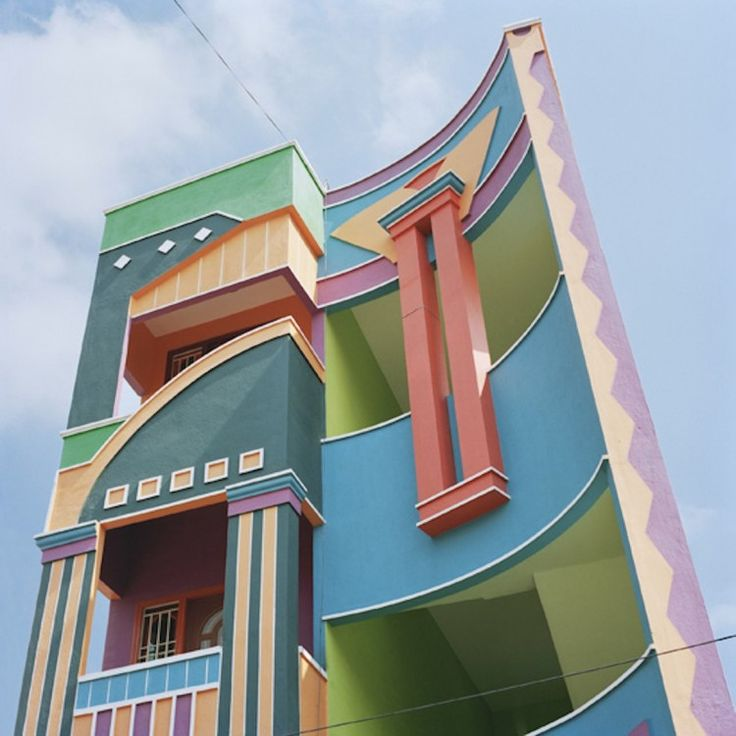 Wonderful This Town: Tirunamavalai In South India! It Looks Like An Etore Sottsass  Memphis Milano Dreamscape, Doesnu0027t It? (What Is Memphis Milano? Read My  Intro Post ...