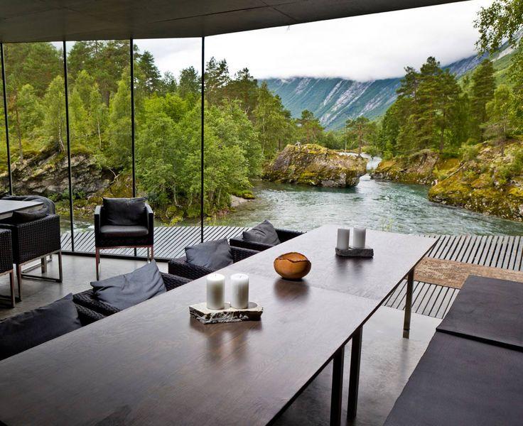 Hotel in Norway where the movie Ex Machina was shot. - Imgur