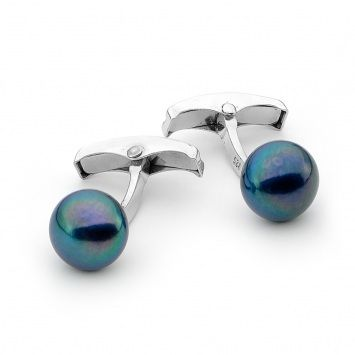 Ikecho's Pretty Colored Pearls Cufflinks Best Suits to Your Personality!