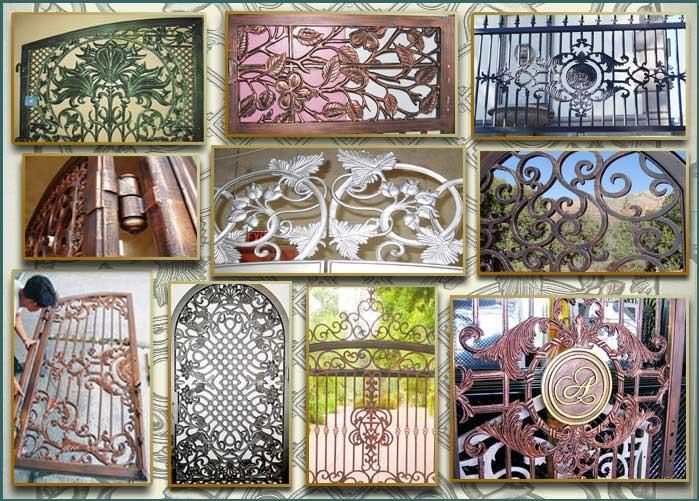 Image Detail For  Custom Ornamental Iron Garden Gates And Pool Gates,  Single And Double