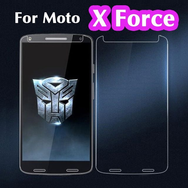 0.26mm Explosion-proof LCD Tempered Glass Film for Motorola Moto X Force / Turbo 2 XT1580 Screen Protector pelicula de vidro