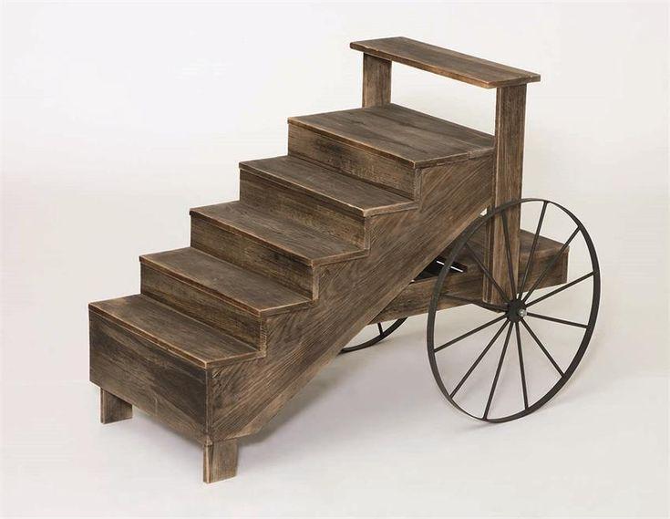 Amish Display Cart
