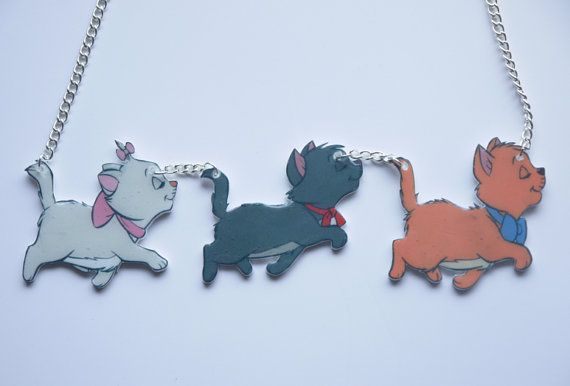 awesome aristocats necklace