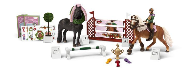 schleich adventskalender pferde inhalt  adventkalender