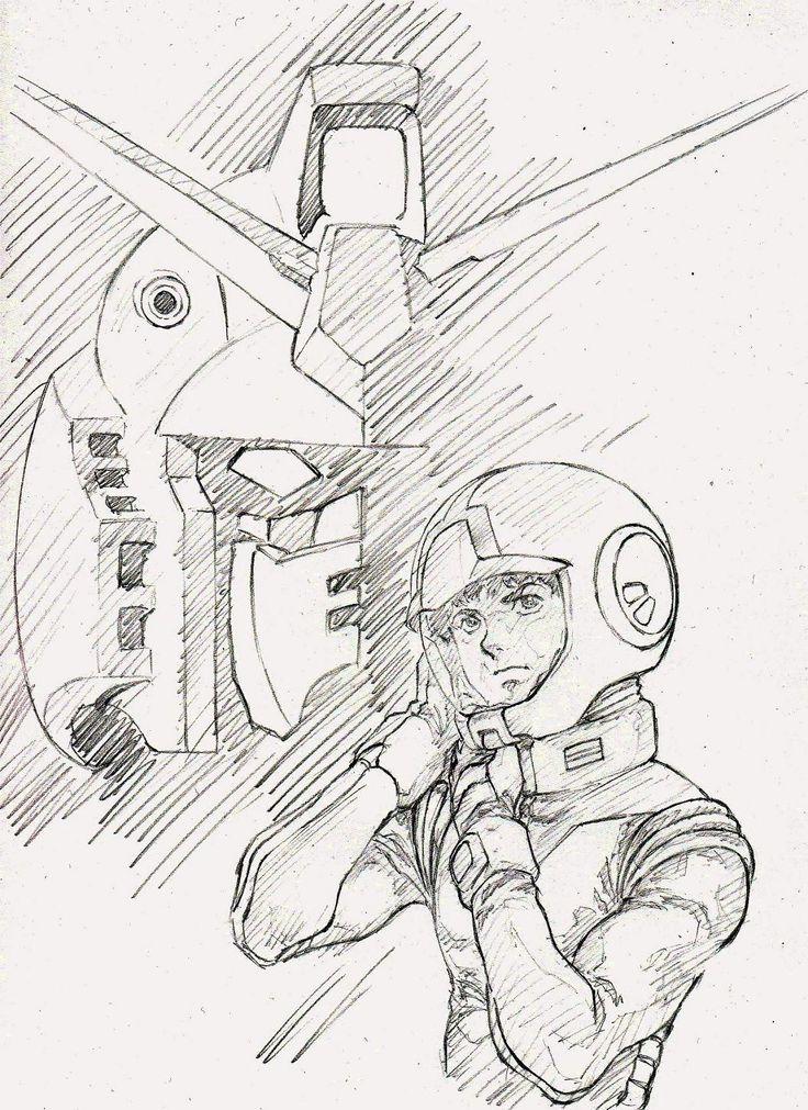Gundam Guy Awesome Gundam Sketches By Vickidrawing