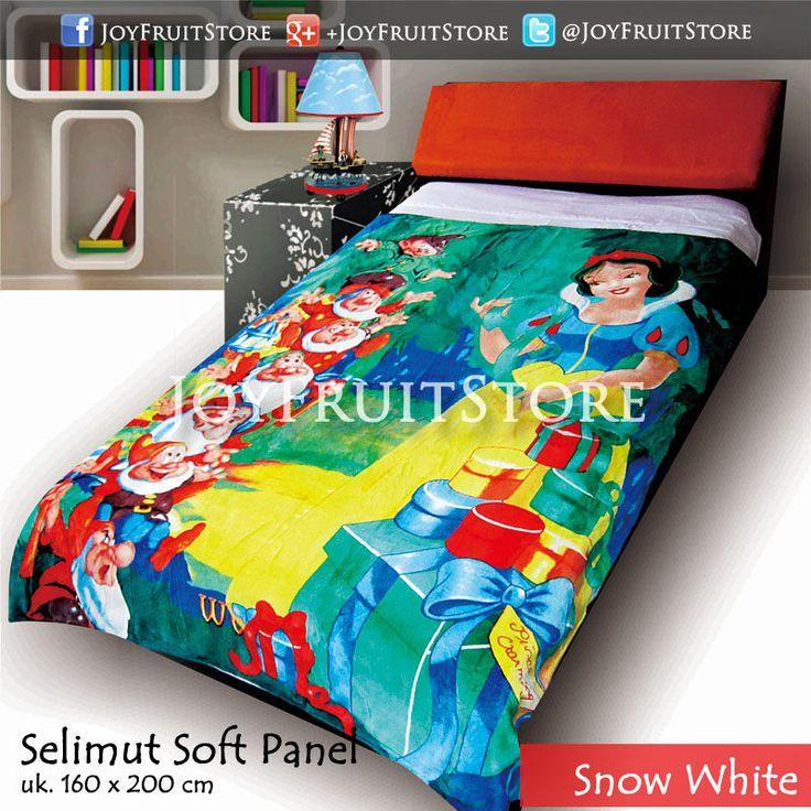 selimut bulu lembut halus (soft panel) snow white joyfruitstore pin bbm 74258162, wechat joyfruitbedcover, whatsapp 081931151596
