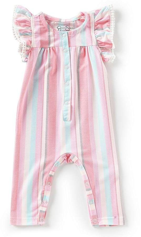 jessica simpson baby girls newborn9 months tickingstripe