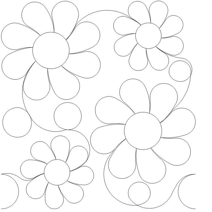 Quiltpatronen borduur