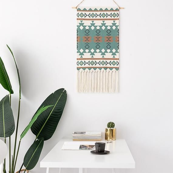Chic MACRAME Wall Hanging Tapestry Boho Tissé Tricoté tapisseries Home Wall Decor
