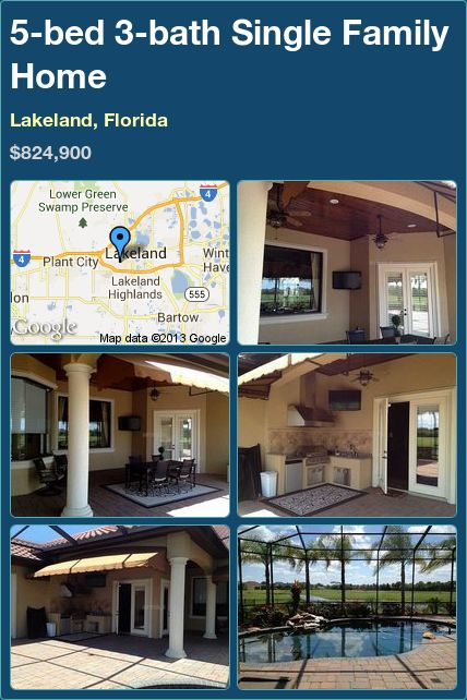 Single family home for sale in tampa florida with 5 for 5 bedroom homes for sale in florida