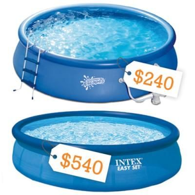 25 best ideas about best above ground pool on pinterest for Above ground pool buying guide