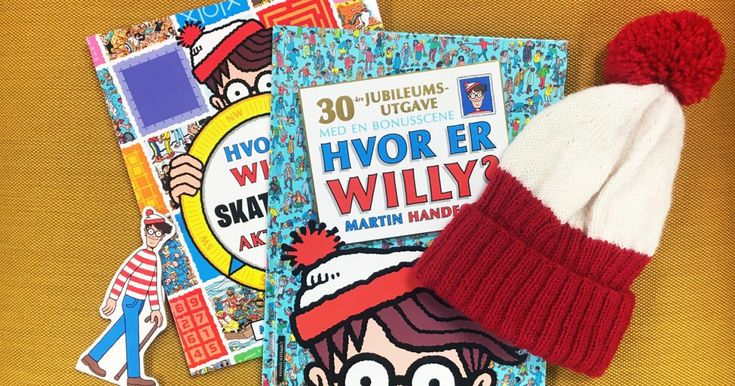 Hvor er Willy-lue. Design Nina Granlund Sæther