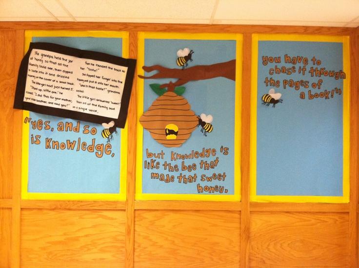 Classroom Incentive Ideas ~ Bee bulletin board boards pinterest