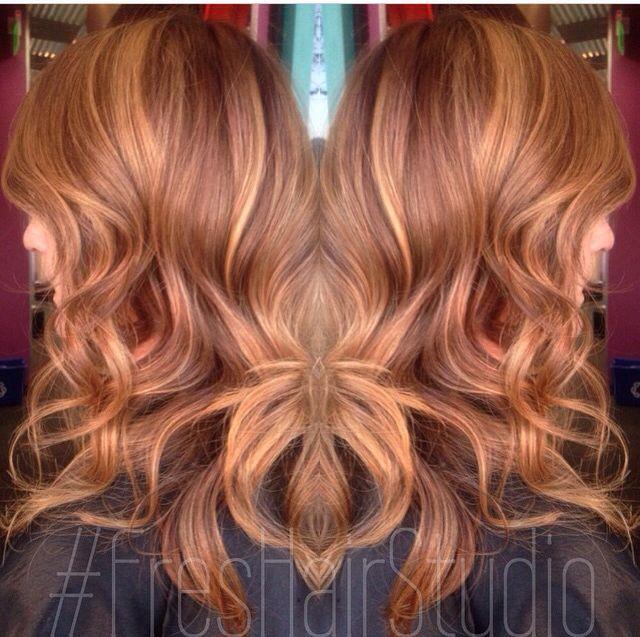 25 best ideas about cinnamon hair colors on pinterest - Meche caramel ...