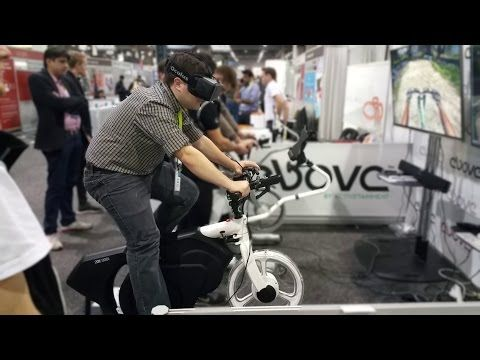 Virtual Reality Mountain Biking with Oculus Rift - YouTube