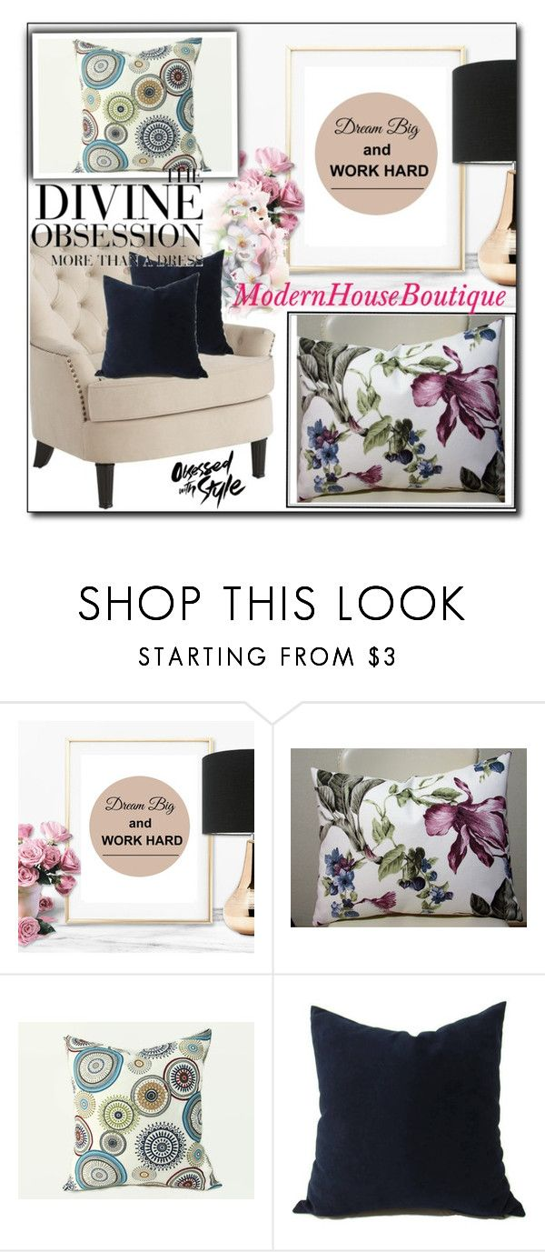 """Modern House Boutique 17"" by sabinn ❤ liked on Polyvore featuring interior, interiors, interior design, home, home decor, interior decorating, Pier 1 Imports, Vera Wang and modern"
