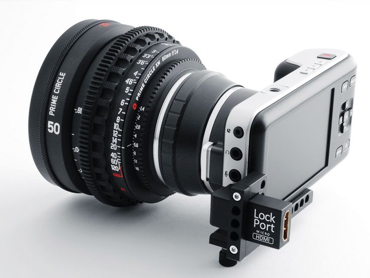 The LockPort Pocket Looks After Your HDMI on Your Blackmagic Pocket Camera: