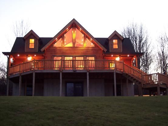 Log Home Unionvale Ny Real Log Homes Since 1963