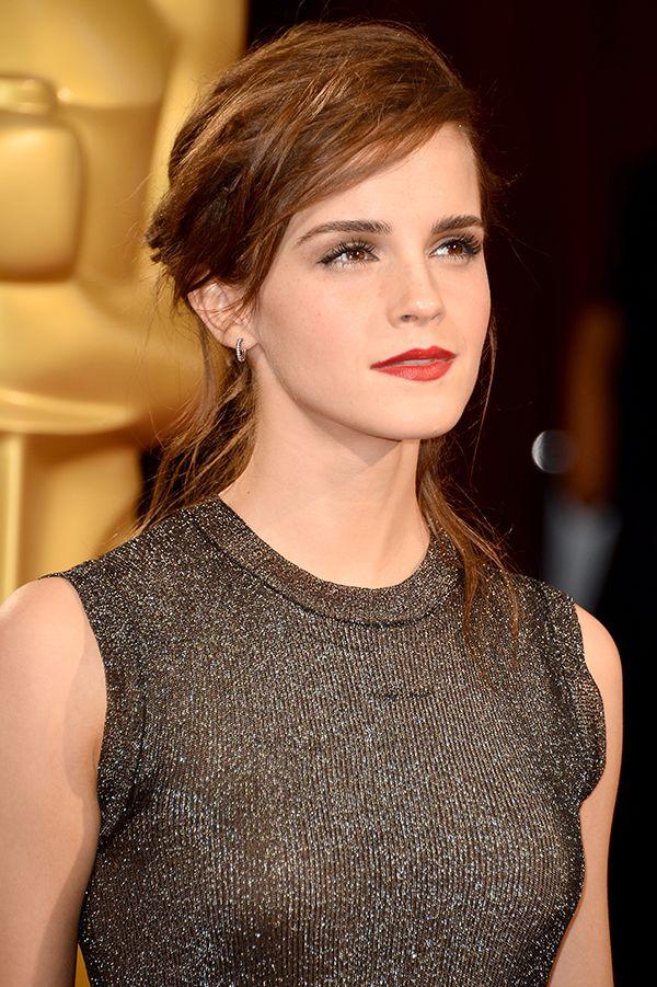 Emma Watson Oscars hairstyle