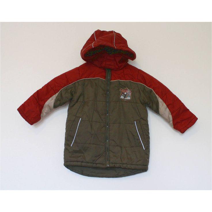 Kiki&Koko, kabát, kisfiú, bordó, khaki