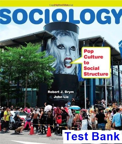 49 best test bank download images on pinterest textbook banks and sociology pop culture to social structure 3rd edition brym test bank test bank solutions fandeluxe Image collections