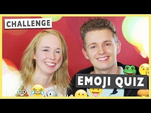 EMOJI QUIZ CHALLENGE - deutsch mit Kim Julia | Prowl3r I YouTube