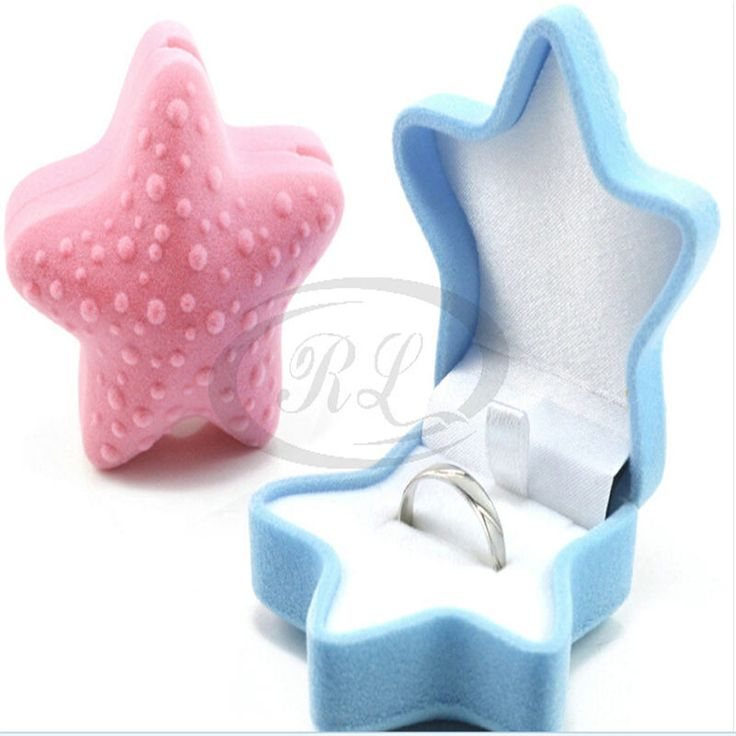 Cheap gift case, Buy Quality velvet ring box directly from China earring box Suppliers: New Velvet Ring Earring Boxes 6.5x4cm 10pcs Starfish Romantic Wedding Velvet Ring Box Jewelry Display Gift Case
