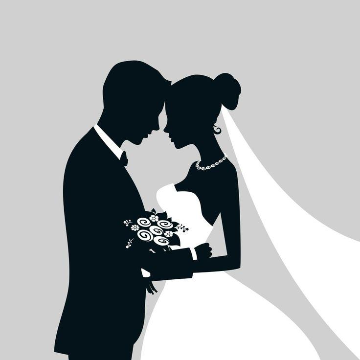 красивые картинки на свадьбу черно-белые давления