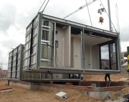 Vivienda de construcción modular