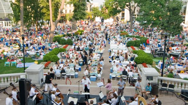 Music Enjoy Concerts on the Rooftop of the Monona Terrace. Spend each Thursday night relaxing for two hours listening to a variety of tunes across various genres. Some highlights include award-winning country Band Madison County, a costumed dance party with The Boogie Men and Boy Band Night with hits from N'Sync, Backstreet Boys and Boyz 2 Men. While the event is free, make sure to get...