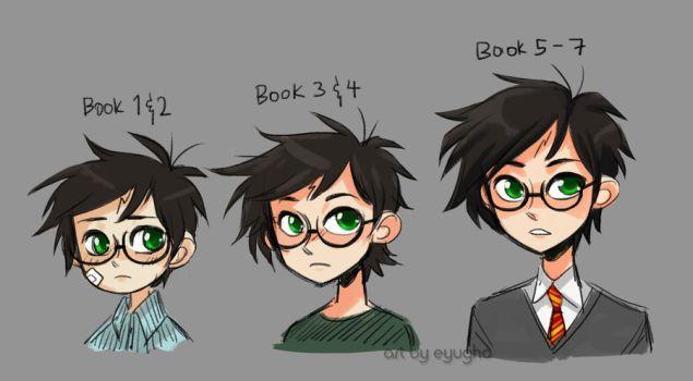Harry Potter Age Timeline By Eyugho Harry Potter Age Harry Potter Fan Art