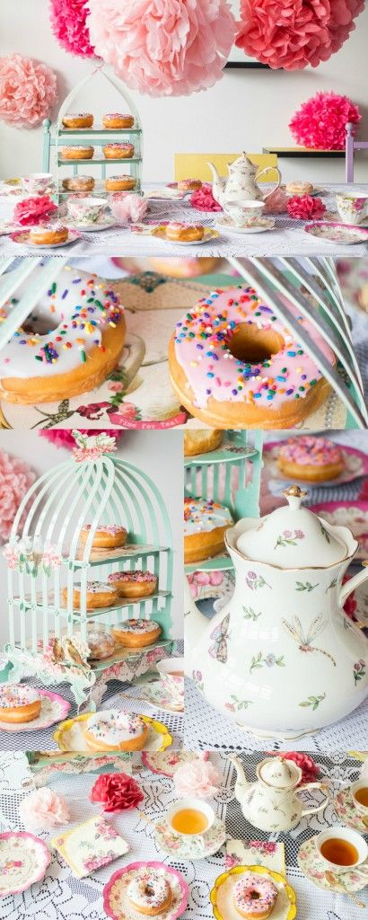 How to Throw a Tea Party! We'll cover food, decorations, tableware, music and more to make it the perfect party! Even better we'll do it on a budget! #FFMedleys #ad @PurinaFF
