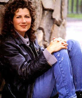 "Amy Grant -- She shopped at The Gap when I worked there.  I said to my coworker, ""I wonder how often that nice woman hears 'you look just like Amy Grant?'""  HA!"