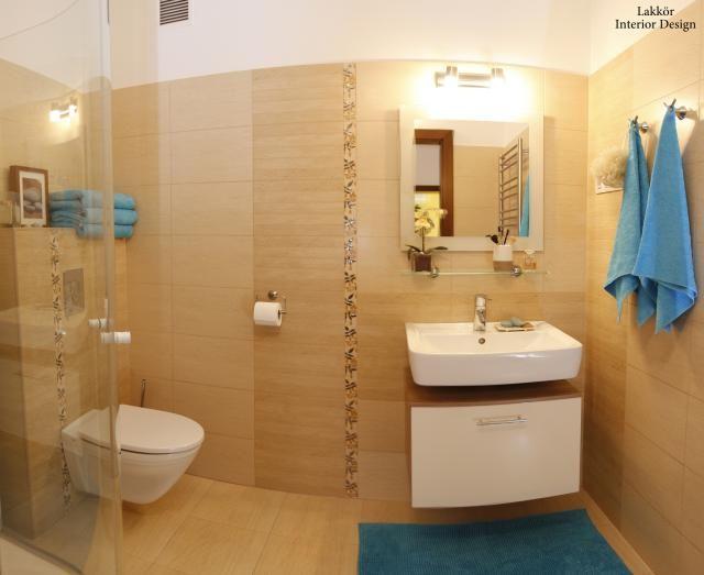 Bézs fürdőszoba csempe