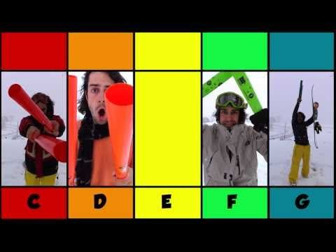 Jingle Tubes - Nature Jams plays Jingle Bells for Boomwhackers - YouTube G=dark green