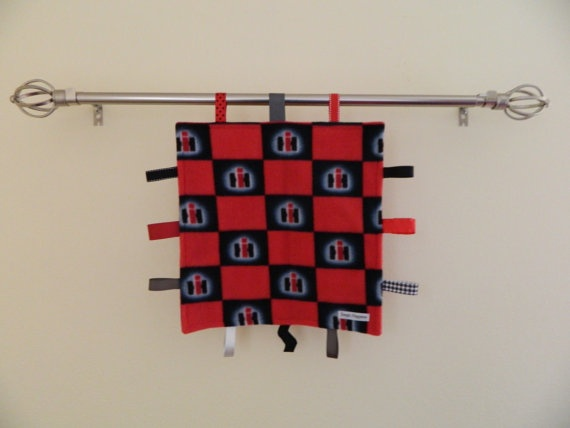 Case International Harvester Baby Blankie by SsspitHappens on Etsy, $15.00