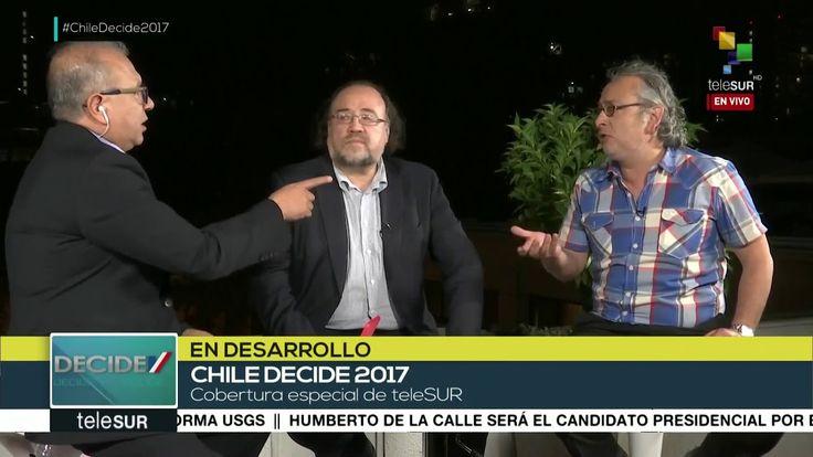 Silva: Alejandro Guillier podría ganar presidencia chilena en balotaje