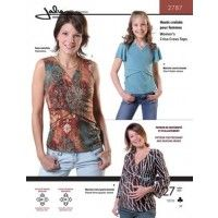 Jalie Pattern 2787 Criss-Cross Top