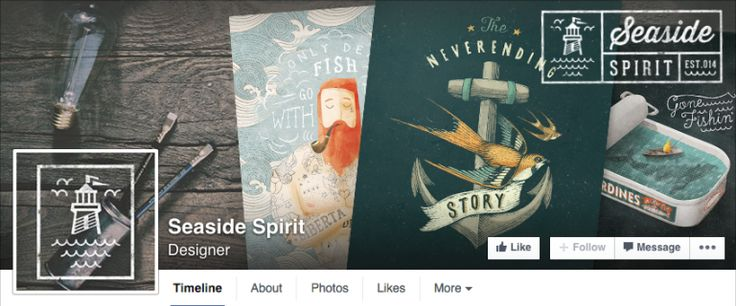 50 Creative Facebook Covers to Inspire You (2015 Edition) – Design School