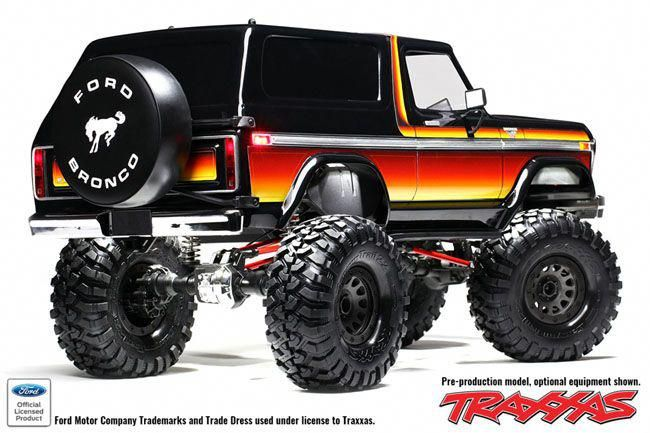 Red Hot Traxxas Trx 4 News Bronco 2 2 Kit Rccars Traxxas Radio Control Bronco