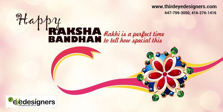 Happy Raksha Bandhan from Team #ThirdEyeDesigners ..!!  #HappyRakshaBandhan #RakshaBandhan #Rakhi #RakhiDay