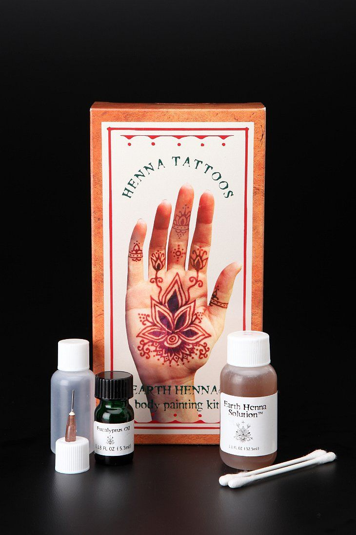 Bring a henna kit? (Research on Amazon which ones have good reviews of lasting a long time, etc.)