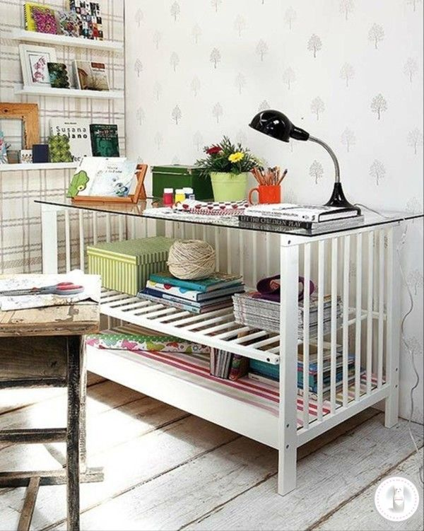 Repurpose Old Baby Crib
