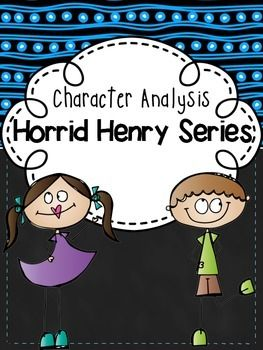 The Horrid Henry series is a great series to use when teaching various character traits. This freebie includes worksheets that can be used to analyze the many interesting characters in the series. Students can even come up with a Horrid Henry series name for