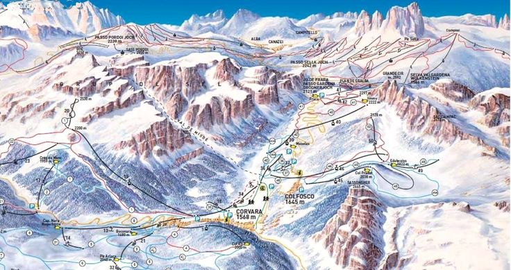 Colfosco/Alta Badia (Dolomiti Superski)